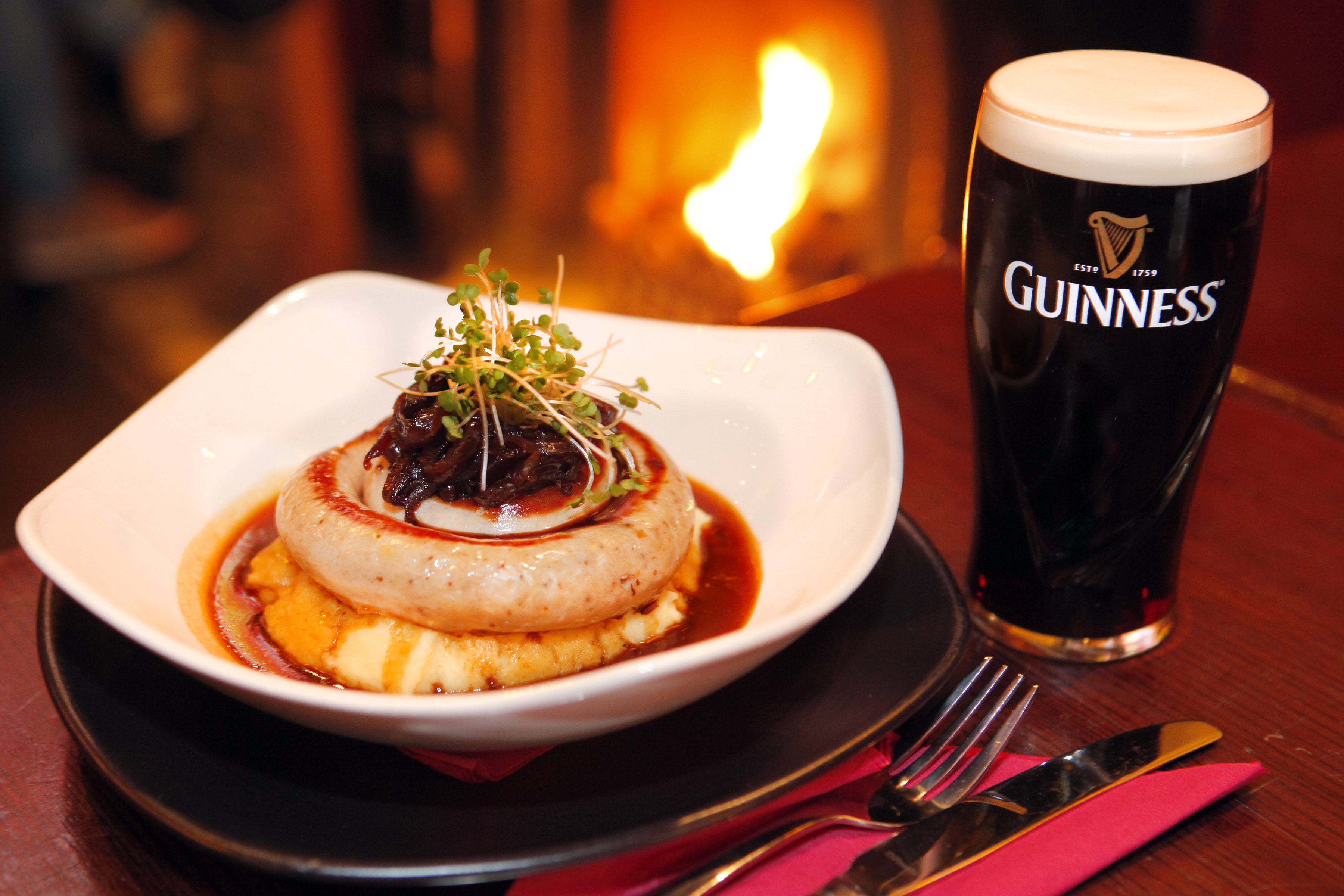 Herterich's of Galway Bangers & Mash