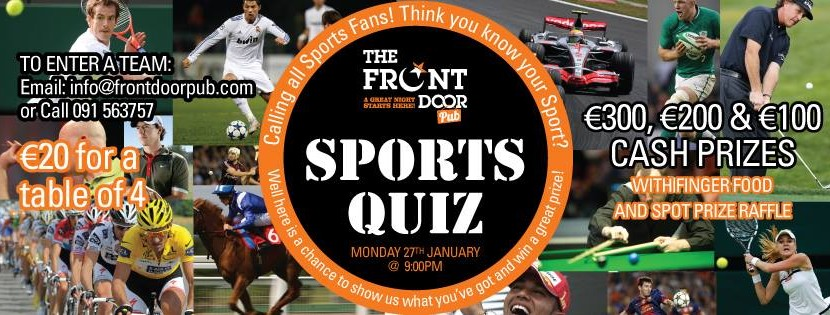 The Front Door Sports Quiz