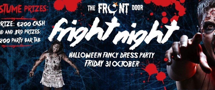Halloween Fancy Dress Party Friday 31st October