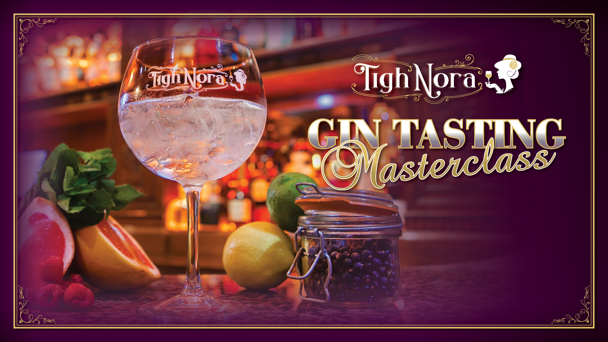 Go To Gin School With A Tigh Nora Tasting Masterclass