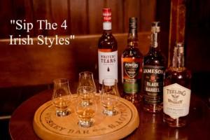 sip the 4 Irish Styles Platter