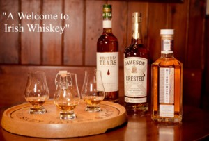 A Welcome to Irish Whiskey Platter