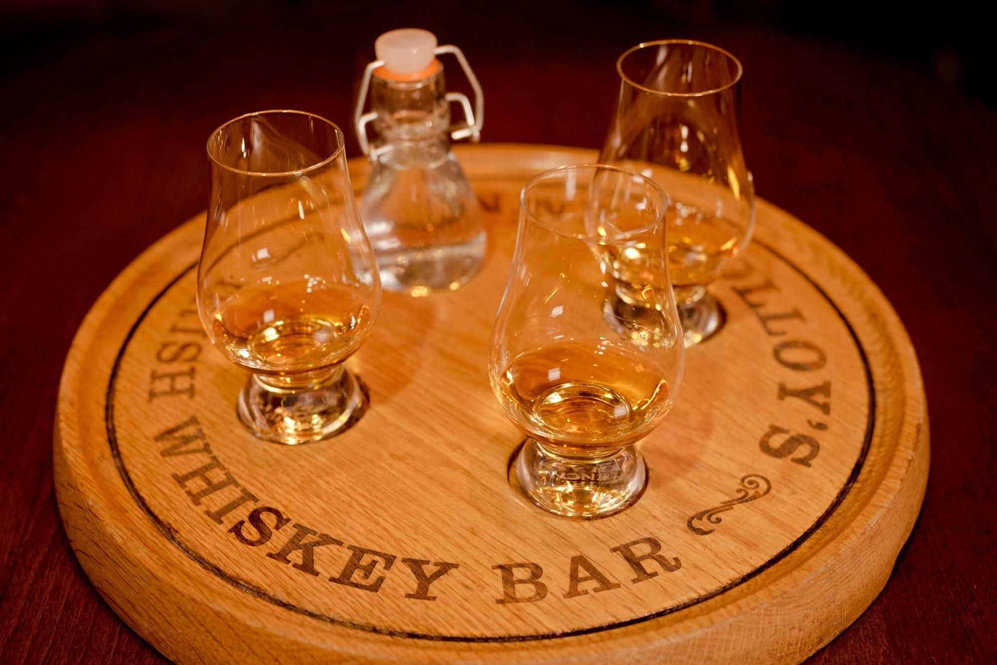 Sonny Molloys Whiskey Platters